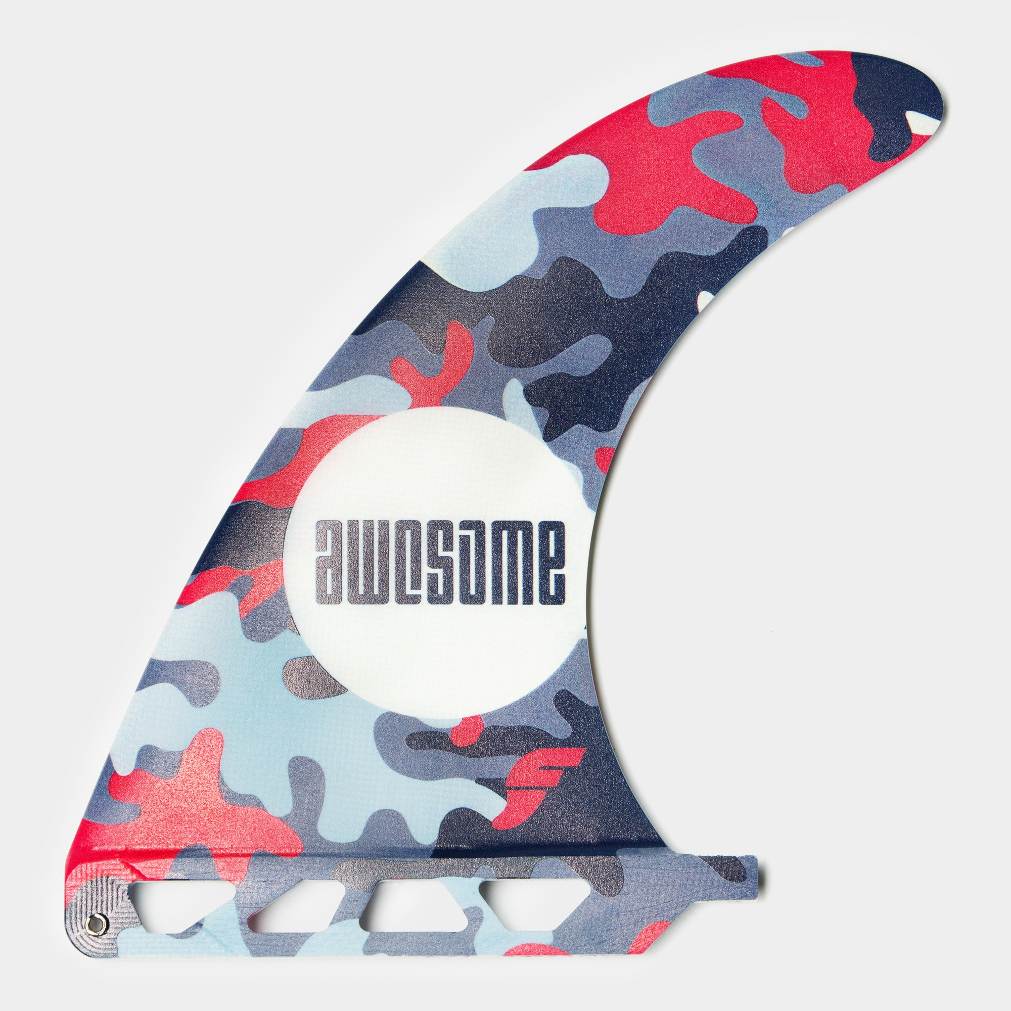 "Awesome 7.25"" Single Fin Camo"